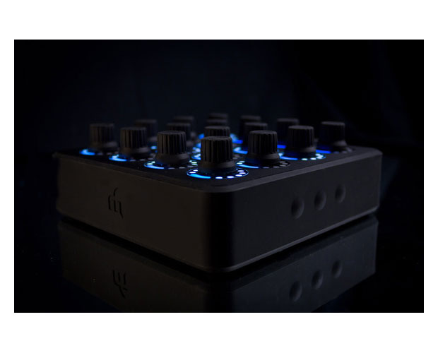 MIDI FIGHTER TWISTER (BLACK)/MFT-BLACK